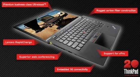 Lenovo Announces.. Windows 8-optimized ThinkPad X1 Carbon Touch | Mobile IT | Scoop.it
