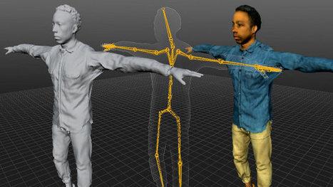 La startup Uraniom modélise votre visage dans les jeux vidéos | Objets connectés, quantified self, TV connectée et domotique | Scoop.it