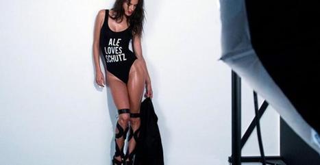 Alessandra Ambrosio dévoile ses jambes vertigineuses pour la marque Schutz | meltyStyle | sextoyspascher | Scoop.it