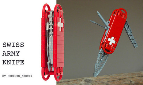 LEGO Swiss Army Knife | Amazing Geeks | Scoop.it