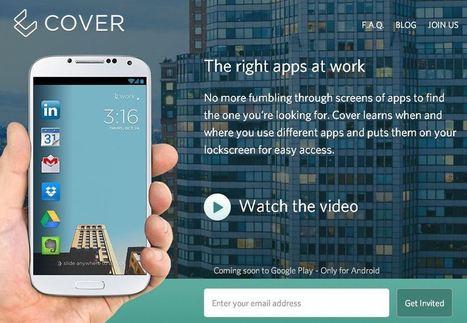 Cover: un nuovo lock screen che cambia a seconda delle nostre abitudini | SMARTFY - Smartphone, Tablet e Tecnologia | Scoop.it