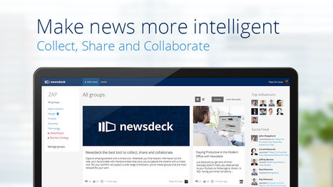 Newsdeck helps companies share news - 10,000 Words | Socially | Scoop.it