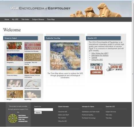News from the UCLA Encyclopedia of Egyptology | L'actu culturelle | Scoop.it