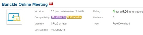 Add Banckle Online Meeting Module on Joomla Websites | Business and Social applications | Scoop.it