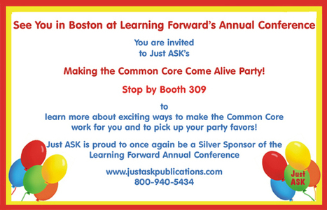 Just ASK Publications and Professional Development - Making the Common Core Come Alive! | Specialized Instruction | Scoop.it