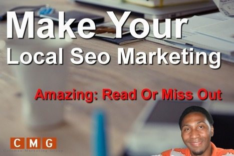 This Article Will Make Your Local Seo Marketing Amazing: Read Or Miss Out | Online Marketing | Scoop.it