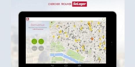 SeLoger.com, en route vers le 'Mobile first'   Le marché de l'immobilier   Scoop.it