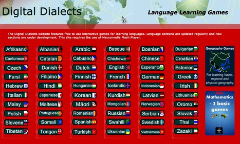 Digital Dialects language learning games | 21st Century TESOL Resources | Scoop.it