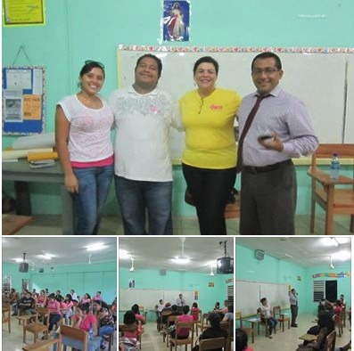 Belize Cancer Society Visits SHJC | Cayo Scoop!... | Belize | Scoop.it