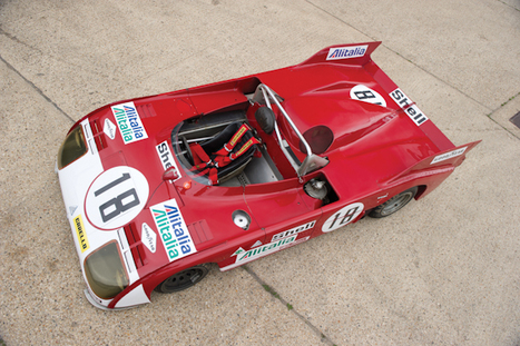 RM Auctions: 1972 Alfa Romeo 33-3 TT | Historic cars and motorsports | Scoop.it