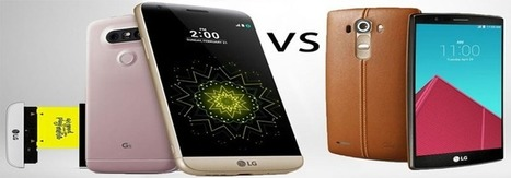 LG G4 vs. LG G5 Which Device Has Better Value for Your Money « SUPPORTrix Blog | Tech Shares | Scoop.it