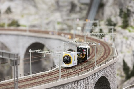 Explore the World's Largest Model Train Set Close Up with Google Maps | relevant entertainment | Scoop.it