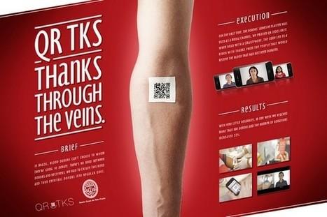 Des pansements QR Code pour promouvoir le don du sang ! | Sport connecté et quantified self | Scoop.it