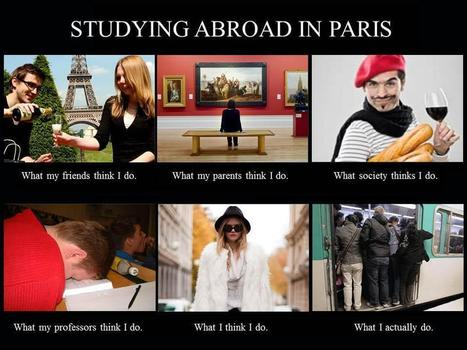 Studying Abroad in Paris | vin et société | Scoop.it