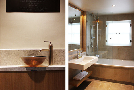 Eve Waldron : The Cambridge Mikvah   Interior Design Cambridge   Scoop.it