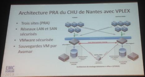 Le #CHU de #Nantes mise sur #VPlex pour la continuité d'activités #PCA #PRA   #Security #InfoSec #CyberSecurity #Sécurité #CyberSécurité #CyberDefence & #DevOps #DevSecOps   Scoop.it