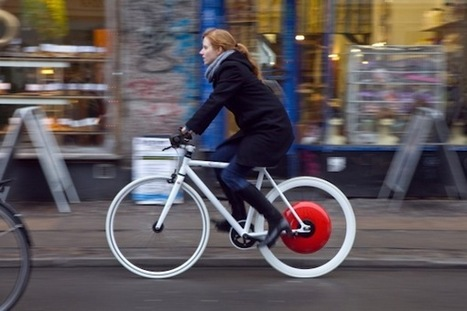 Copenhagen Wheel will make your bike faster, smarter, and connected | Impact Lab | Vehicle:ology | Scoop.it