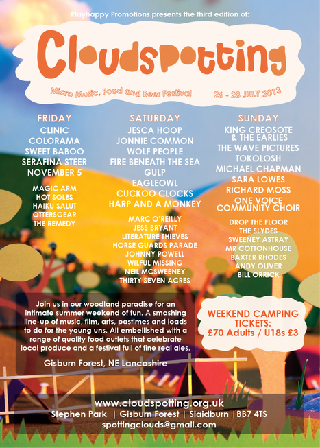 Looking for the Coolest festival - you found it | Cloudspotting Festival | Scoop.it