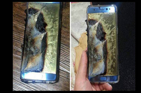 Don't touch that dial! Exploding Samsung Galaxy Note 7 phablets recalled immediately   daily life and others   Scoop.it