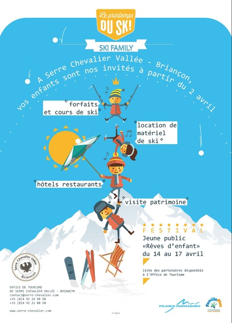 LE PRINTEMPS DU SKI SERRE CHEVALIER VALLEE BRIANÇON | Destination Briançon Serre Chevalier Vallée | Scoop.it