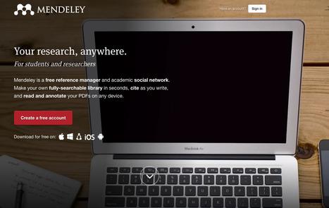 Video-píldora: Mendeley en 5 minutos | Gestión del conocimiento en Salud | Scoop.it