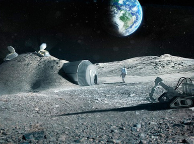 Foster + Partners to 3D print structures on the moon | architecture-info | Scoop.it