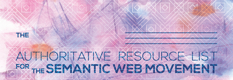 The Authoritative Resource List for the Semantic Web | Beyond Marketing | Scoop.it
