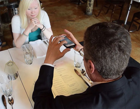 KNFB Reader for Blind People Reads Any Text Anywhere (VIDEO)   Digitized Health   Scoop.it