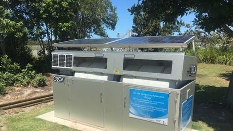 Queensland worm farmer invents solar power compost machine | compost for food production from food scraps | Scoop.it