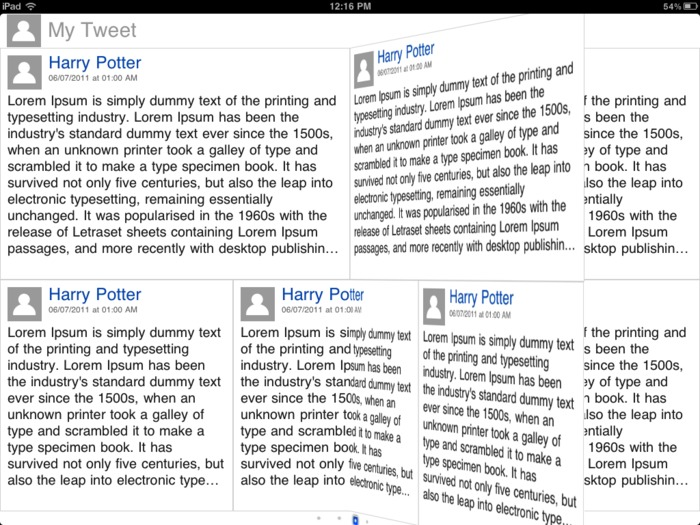 Open Source: Flipboard Style Transitions And Reader Example For iPad | iPhone and iPad development | Scoop.it