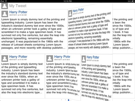 Open Source: Flipboard Style Transitions And Reader Example For iPad | iPhone And PHP Dev | Scoop.it