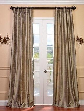 Designing Cashmere Color Silk Curtains Interiors   Window Treatments   Scoop.it