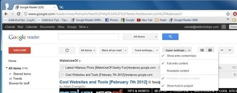 Read Google Reader Feeds In Full Form [Chrome] | Time to Learn | Scoop.it