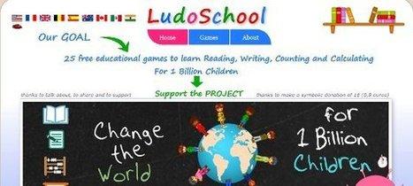 25 jeux éducatifs pour 1 milliard d'enfants, | La Fonderie | Programmes et progressions + B2i | Scoop.it