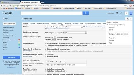 Tuto vidéo : créer un filtre dans Gmail | François MAGNAN  Formateur Consultant | Scoop.it