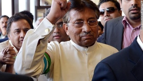 Exiled Pakistani ex-president home to 'save' nation despite death threat | AP Human Geography Finnegan | Scoop.it