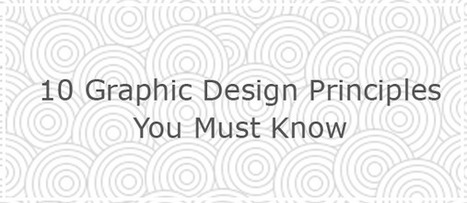 10 Graphic Design Principles You Must Know | logopie.com | logo designs | Scoop.it