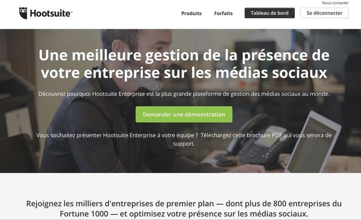 Hootsuite. Gérez vos réseaux sociaux en mode collaboratif - Les Outils Collaboratifs | TIC et TICE mais... en français | Scoop.it