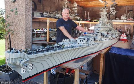USS Missouri recriado em LEGO com 7.4 metros | Heron | Scoop.it