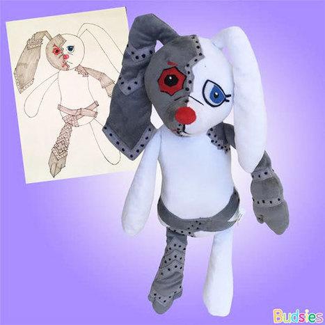 Un fabricant de jouets transforme les dessins d'enfant en peluche - Image   Pèle-mêle   Scoop.it