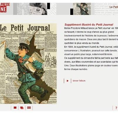 BnF - La presse à la une | Apprentissage du Français FLE | Dossier - French Language Learning | Scoop.it