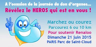Participez à la course des héros 2015 et soutenez Renaloo ! Un grand événement festif et solidaire de collecte de fonds | Actualités monde de la santé | Scoop.it