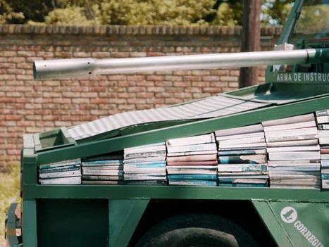 Βιβλία: Τα ισχυρότερα όπλα του πλανήτη! | omnia mea mecum fero | Scoop.it
