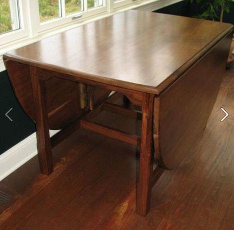» Custom made Walnut Drop Leaf Table …..Reclaimed Wood Furniture | reclaimed wood items | Scoop.it