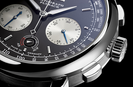 Datagraph up/down, il nuovo cronografo A. Lange & Söhne | FASHION & LIFESTYLE! | Scoop.it
