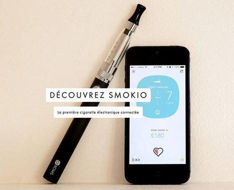 Smokio, une cigarette électronique connectée pour ceux qui souhaitent arrêter de fumer | cigarettes-electronique | Scoop.it