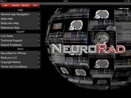 NeuroRad for iPad is a great app for medical professionals to learn radiology | Noticias TIC SALUD | Scoop.it