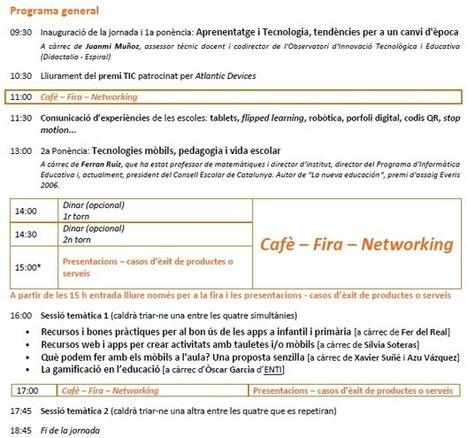 13a Jornada de Tecnologia Educativa | educació i tecnologia | Scoop.it