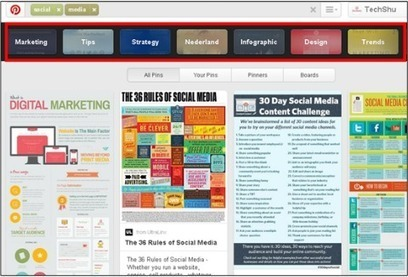 6 Tips for Pinterest Marketing in Just Minutes a Day | MarketingHits | Scoop.it
