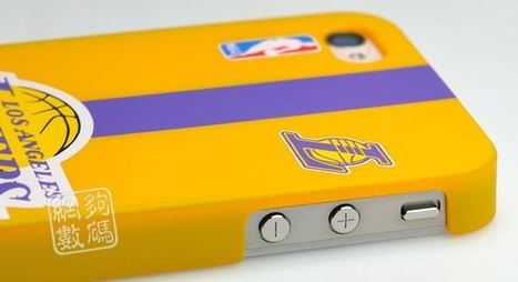 Los Angeles Lakers iPhone 4, 4S protective case | Apple iPhone and iPad news | Scoop.it
